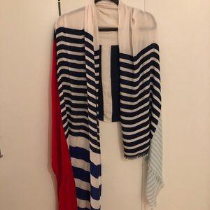 Kate Spade lightweight scarf